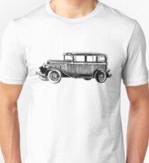 Old Vintage Antique Car Drawing #7 T-Shirt