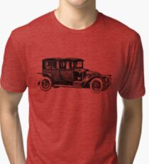 Old Vintage Antique Car Drawing #8 Tri-blend T-Shirt