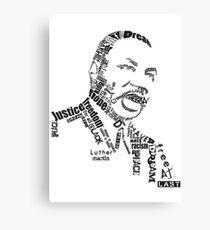 Dr. King Canvas Print
