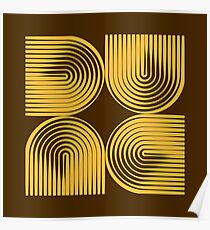 Dune Typographique Poster