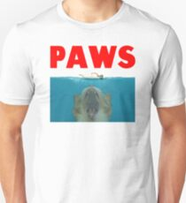 Funny Paws Cat Movie Poster Parody T-Shirt