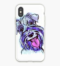 The Schnauzer Love of My Life iPhone Case