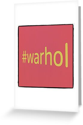 Hashtag Warhol by Simon Harrison
