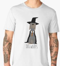 potter dogs dogwarts Men's Premium T-Shirt