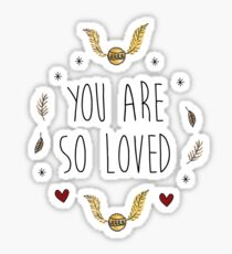 harry - you are so loved Sticker