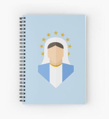 Mother of God Spiral Notebook