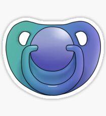 blue/green paci Sticker