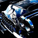 Classic Black Corvette by AngieDavies