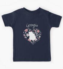 Georgia - Always In My Heart (Pastel Color Version) Kids Tee