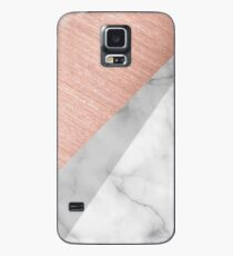 Rose Gold and Marble Case/Skin for Samsung Galaxy