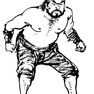 DPRK North Korean Wrestler - Black by radpidgeons