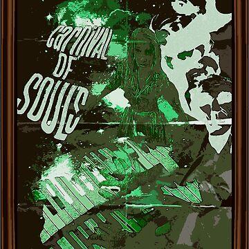Carnival of Souls Poster by kawaiikastle