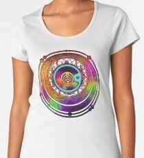 Psychedelic Bassnectar Fractal Colorado Love Women's Premium T-Shirt