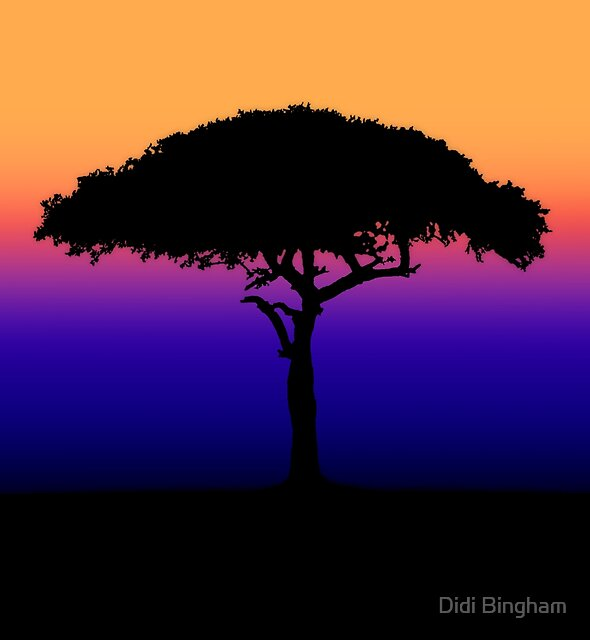 Solitary [Print and iPhone / iPad / iPod Case] by Didi Bingham