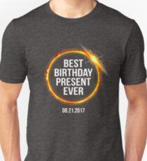 Funny 2017 Solar Eclipse Best Birthday Present Ever T-Shirt