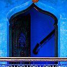 The Blue City III [Print / iPad case / Phone case / Clothing / Decor] by Didi Bingham