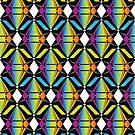 Abstract Emeralds [RAINBOW] Pattern by Daniel Bevis