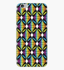 Abstract Emeralds [RAINBOW] Pattern iPhone Case