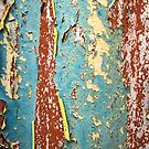 Weathered and peeling - abstract art by Simon Harrison