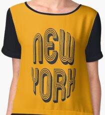 New York Women's Chiffon Top