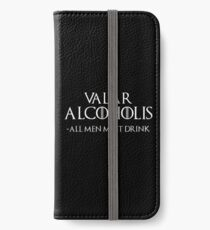 Valar Alcoholis iPhone Wallet/Case/Skin