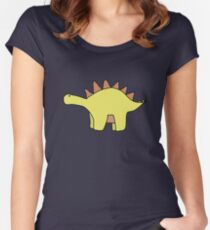 Dinosaurs and Dinosaurs Women's Fitted Scoop T-Shirt