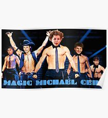 Magic Michael Cera Poster
