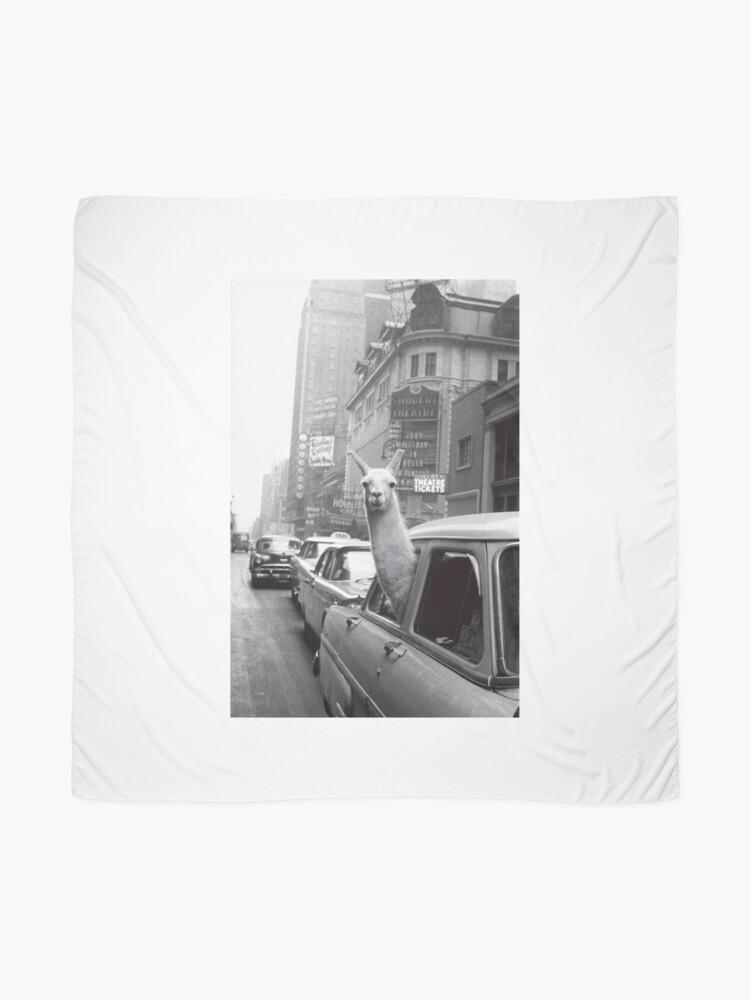 Vista alternativa de Pañuelo Nueva York Llama