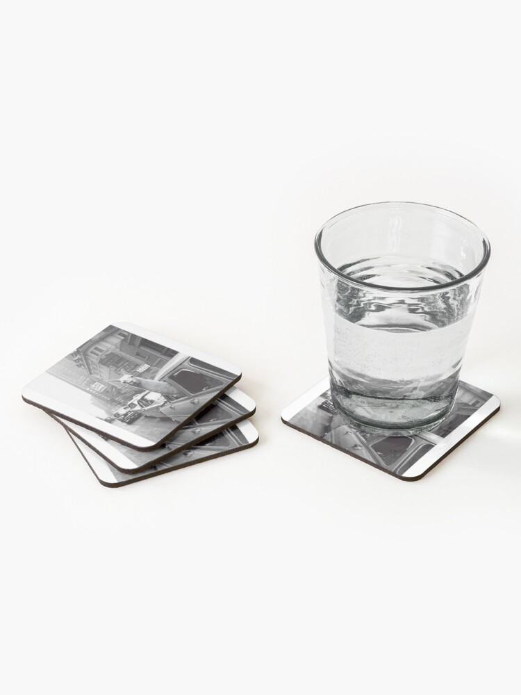 Alternate view of New York Llama Coasters (Set of 4)