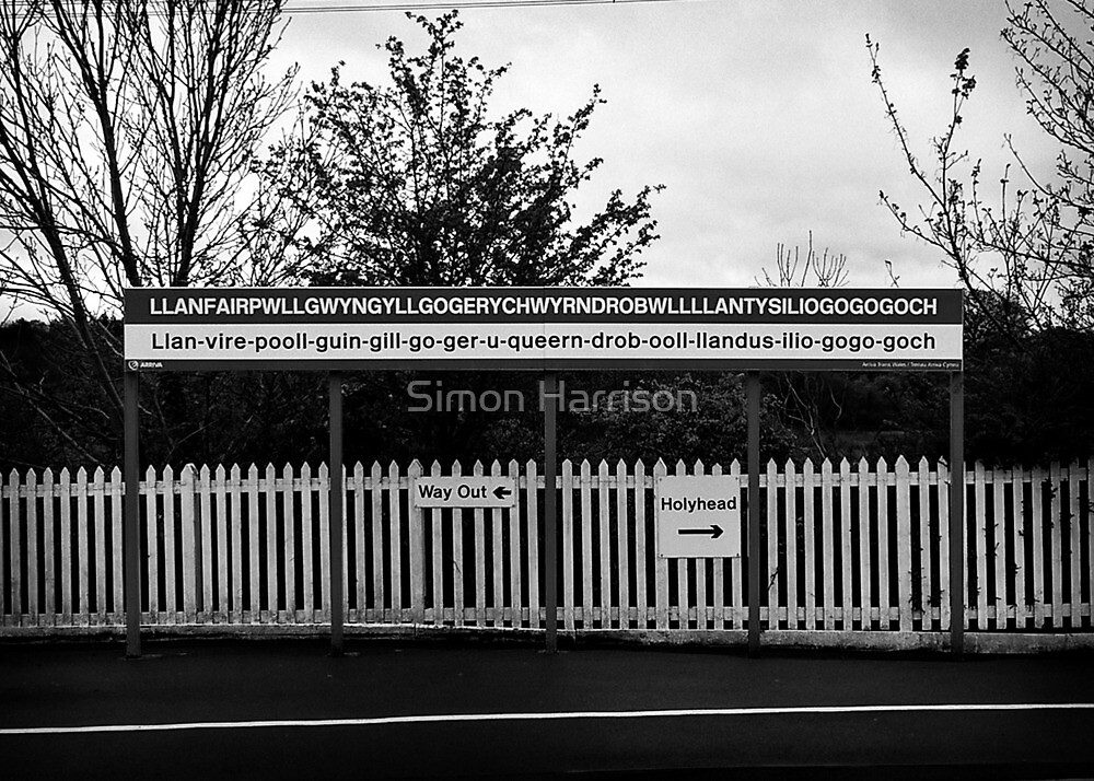 That Welsh train station by Simon Harrison