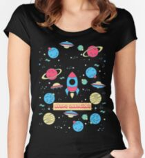 STORE ASSOCIATE Women's Fitted Scoop T-Shirt