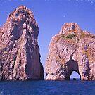 Faraglioni In Capri Italy by daphsam