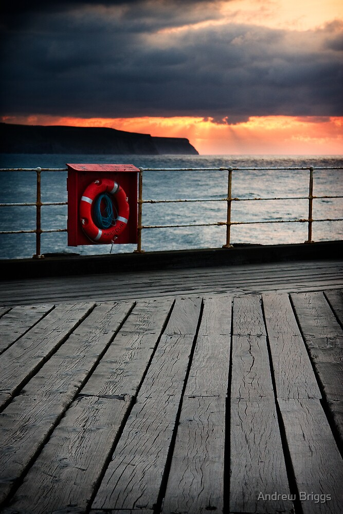 Whitby VI by Andrew Briggs