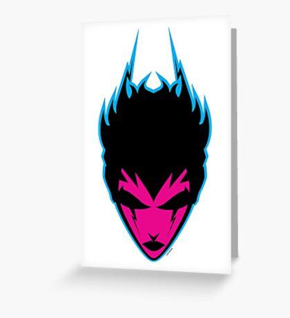 xy - Atomic Remix Greeting Card