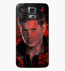 Splatter Dean Winchester Case/Skin for Samsung Galaxy
