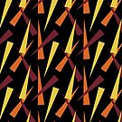 Abstract Carrots by Annie Webster