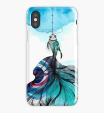 Fish fished iPhone Case/Skin