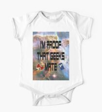 I'm proof that geeks mate (Whovian edition) Kids Clothes