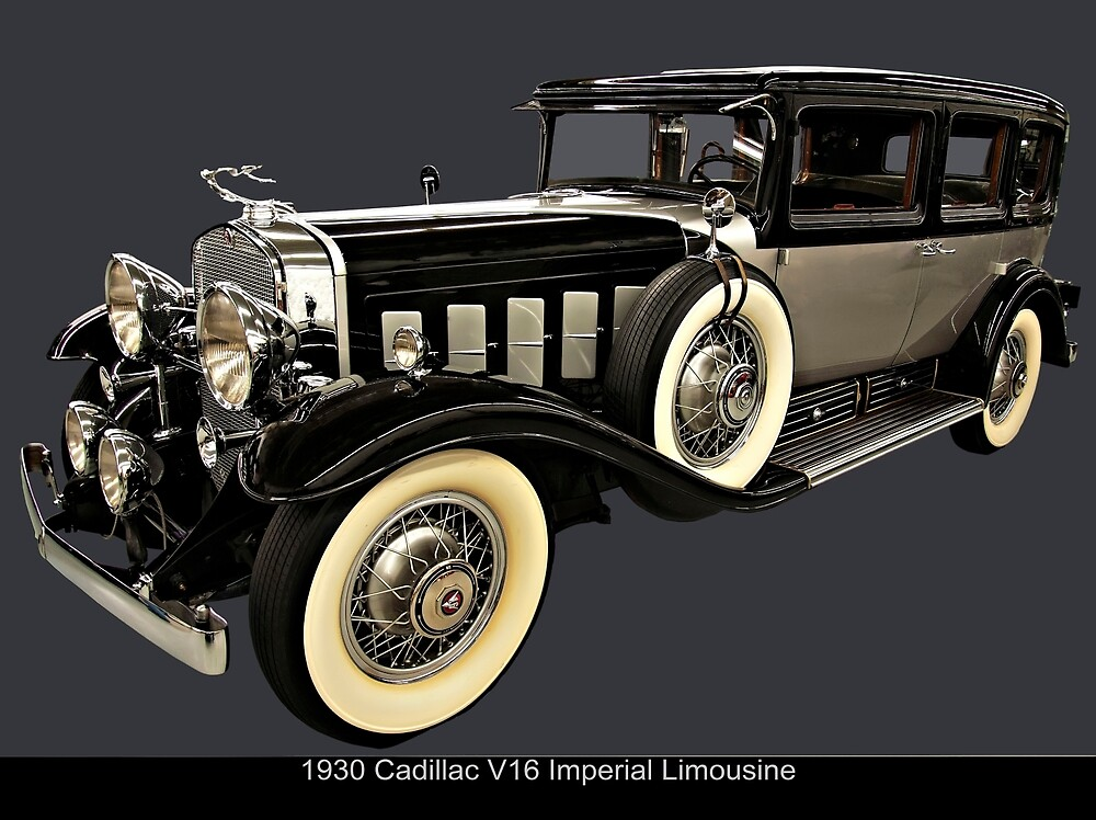 1930 Cadillac Imperial V16 Limousine by chrisflees