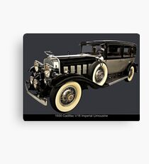 1930 Cadillac Imperial V16 Limousine Canvas Print