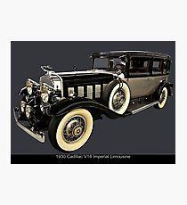 1930 Cadillac Imperial V16 Limousine Photographic Print