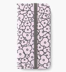 Popcorn Flower Field Pale Pink iPhone Wallet/Case/Skin