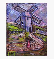 The old windmill Photographic Print