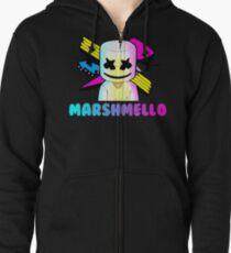 Marshmello Zipped Hoodie