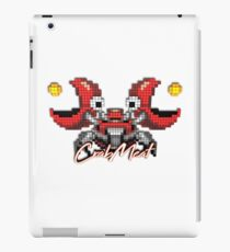 3D Pixel Gaming Characters - CrabMeat iPad Case/Skin