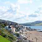 Lyme Regis Seafront...........Dorset UK by lynn carter