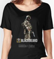 R6 - Blackbeard | Operator Series Women's Relaxed Fit T-Shirt