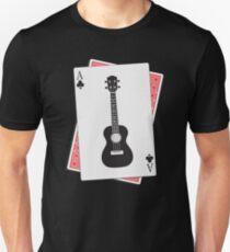 Ukulele Clubs Playing Card Unisex T-Shirt