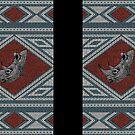 Roman Rhino Mosaic by christymcnutt