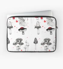 shrooms in the woods Laptop Sleeve